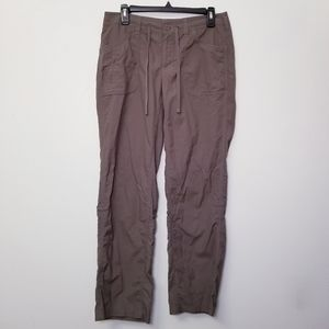 North Face Size 8 Gray Outdoor Adventure Pants